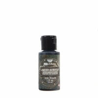 Prima - Finnabair - Art Alchemy - Liquid Acrylic Paint - Ink Black