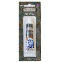 Prima - Finnabair - Art Alchemy - Matte Wax Paste - Old White