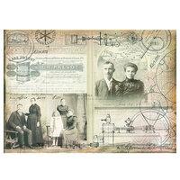 Prima - Art Daily - Decorative Paper - Science Lover
