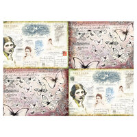 Prima - Art Daily - Decorative Paper - Journaling Minis - Ladies' World