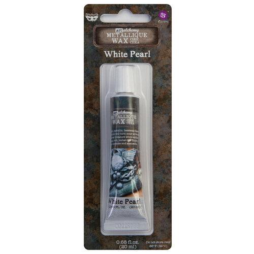 Prima - Art Alchemy - Metallique Wax - White Pearl