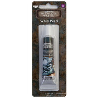 Prima - Art Alchemy - Metallique Wax - White Pearl