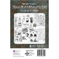 Prima - Art Daily - Vellum Journaling Pad - Vintage Stories