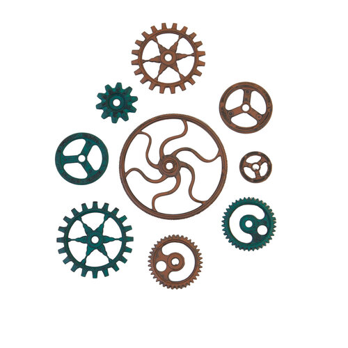 Prima - Finnabair - Mechanicals - Grungy Gears