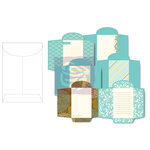 Prima - Wishes and Dreams Collection - Envelope Pad