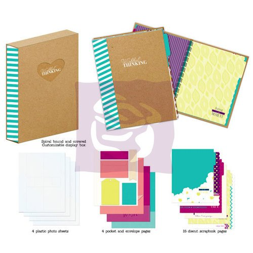 Prima - Wishful Thinking Collection - Journal Book Box