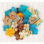 Prima - Wishes and Dreams Collection - Flower Embellishments - Multi-Pack