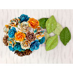 Prima - Wishes and Dreams Collection - Flower Embellishments - Mini Rose Stems
