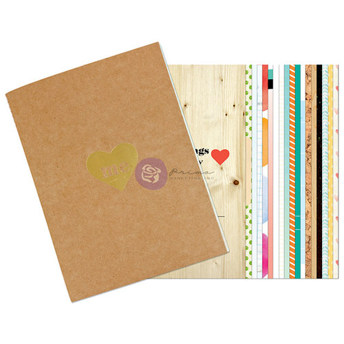 Prima - Leeza Gibbons - All About Me Collection - Journal