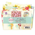 Prima - Creating In Faith Collection - 4 x 6 Journaling Cards