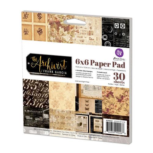 Prima - The Archivist Collection - 6 x 6 Paper Pad