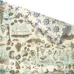 Prima - French Riviera Collection - 12 x 12 Double Sided Paper - Au Bord de la Mer