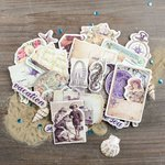 Prima - French Riviera Collection - Chipboard Stickers and More