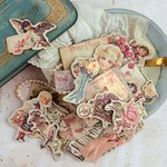 Prima - Tales of You and Me Collection - Chipboard Stickers and More
