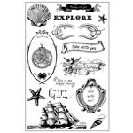Prima - French Riviera Collection - Cling Mounted Stamps