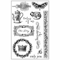 Prima - Tales of You and Me Collection - Cling Mounted Stamps