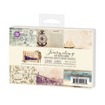 Prima - French Riviera Collection - 4 x 6 Journaling Cards