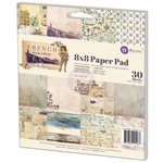 Prima - French Riviera Collection - 8 x 8 Paper Pad