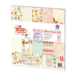 Prima - Sweet Peppermint Collection - Christmas - 12 x 12 Collection Kit