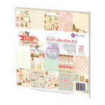 Prima - Sweet Peppermint Collection - Christmas - 8 x 8 Collection Kit
