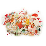 Prima - Sweet Peppermint Collection - Christmas - Chipboard Stickers and More