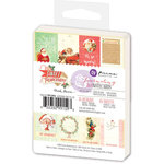 Prima - Sweet Peppermint Collection - Christmas - 3 x 4 Journaling Cards