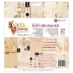 Prima - Love Clippings Collection - 8 x 8 Collection Kit