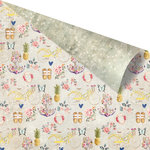 Prima - St. Tropez Collection - 12 x 12 Double Sided Paper - Plage de la Bouillabaise with Foil Accents