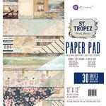 Prima - St. Tropez Collection - 12 x 12 Paper Pad