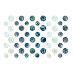 Prima - St. Tropez Collection - Say It In Crystals - Self Adhesive Jewels