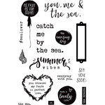 Prima - St. Tropez Collection - Cling Mounted Rubber Stamps