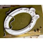 Prima - Memory Hardware - Resin Frames - Papillion Blanc Oval
