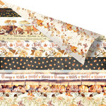 Prima - Amber Moon Collection - 12 x 12 Double Sided Paper - Five