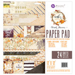 Prima - Amber Moon Collection - 12 x 12 Paper Pad