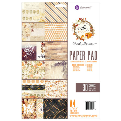 Prima - Amber Moon Collection - A4 Paper Pad