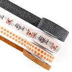 Prima - Amber Moon Collection - Decorative Tape with Glitter Accents