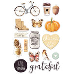 Prima - Amber Moon Collection - Puffy Stickers