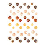 Prima - Amber Moon Collection - Say It In Crystals - Self Adhesive Jewels