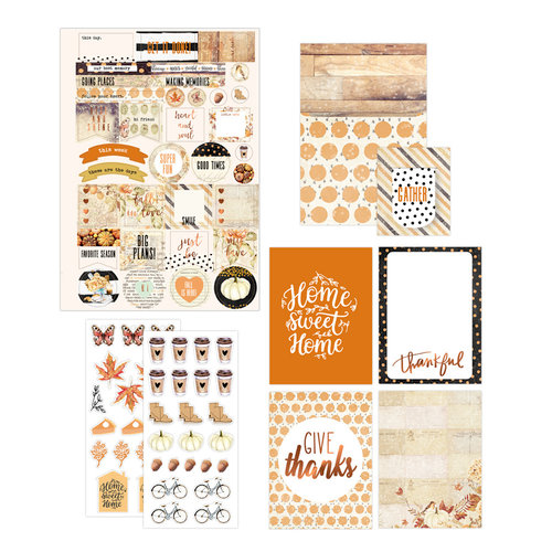 Prima - Amber Moon Collection - Planner Goodie Pack with Foil Accents