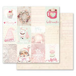 Prima - Santa Baby Collection - Christmas - 12 x 12 Double Sided Paper - Christmas Magic