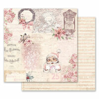 Prima - Santa Baby Collection - Christmas - 12 x 12 Double Sided Paper - Grand Christmas Exhibition