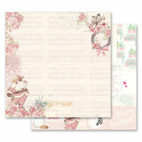 Prima - Santa Baby Collection - Christmas - 12 x 12 Double Sided Paper - Santa, Baby!