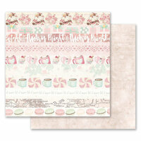 Prima - Santa Baby Collection - Christmas - 12 x 12 Double Sided Paper - Let it Snow
