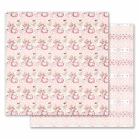 Prima - Santa Baby Collection - Christmas - 12 x 12 Double Sided Paper - Warm and Cozy