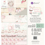 Prima - Santa Baby Collection - Christmas - 12 x 12 Paper Pad with Foil Accents