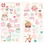 Prima - Santa Baby Collection - Christmas - Chipboard Stickers