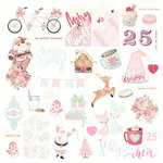 Prima - Santa Baby Collection - Christmas - Ephemera