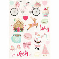 Prima - Santa Baby Collection - Christmas - Puffy Stickers