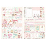 Prima - Santa Baby Collection - Christmas - Cardstock Stickers - Word Quotes