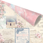 Prima - Santorini Collection - 12 x 12 Double Sided Paper - Mix and Match with Foil Accents